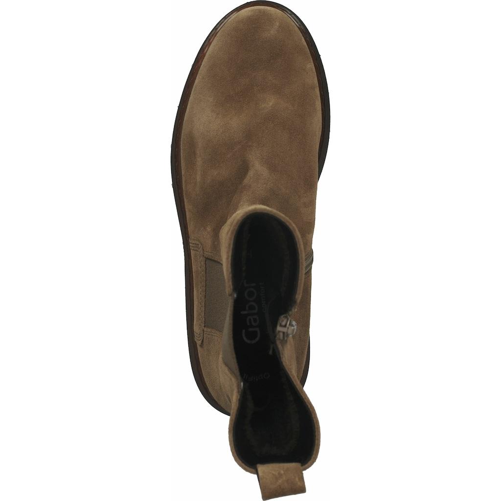 Gabor Stiefel »Veloursleder«