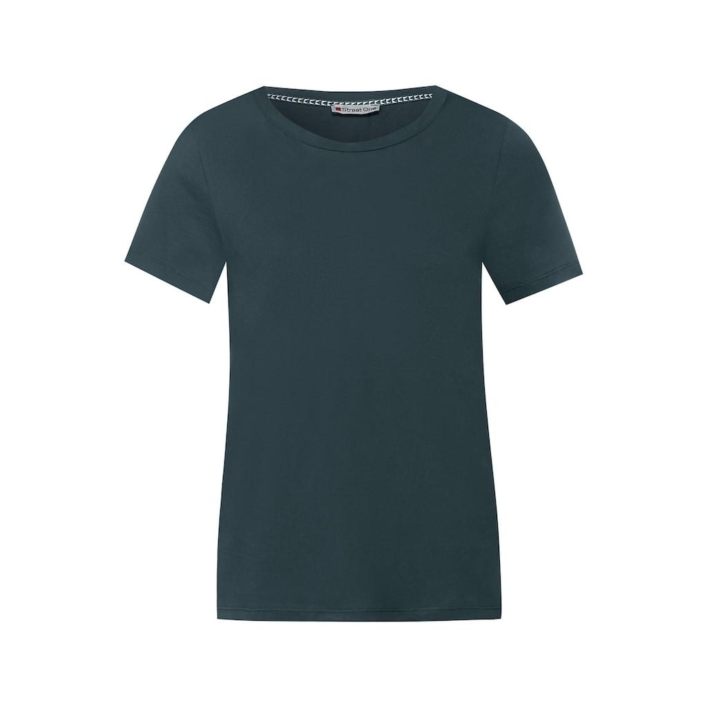 STREET ONE T-Shirt, in Unifarbe