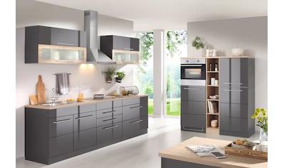HELD MÖBEL Küchenzeile »Wien«, mit E-Geräten, Breite 430 cm, wahlweise mit Induktion kaufen