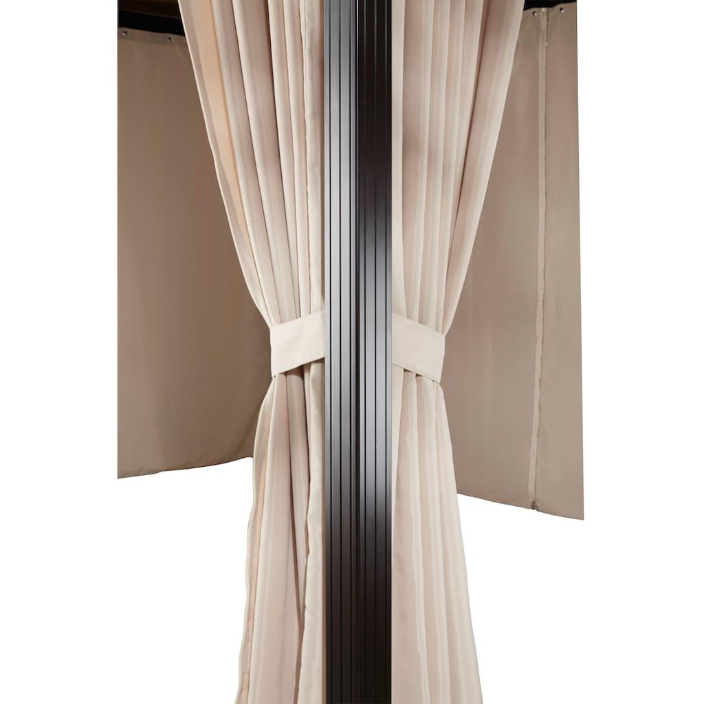 KONIFERA Pavillon »Aruba«, (Set), BxT: 300x300 cm