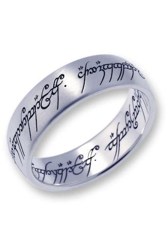 Der Herr der Ringe Fingerring »Der Eine Ring  -  Edelstahl, 10004022« kaufen