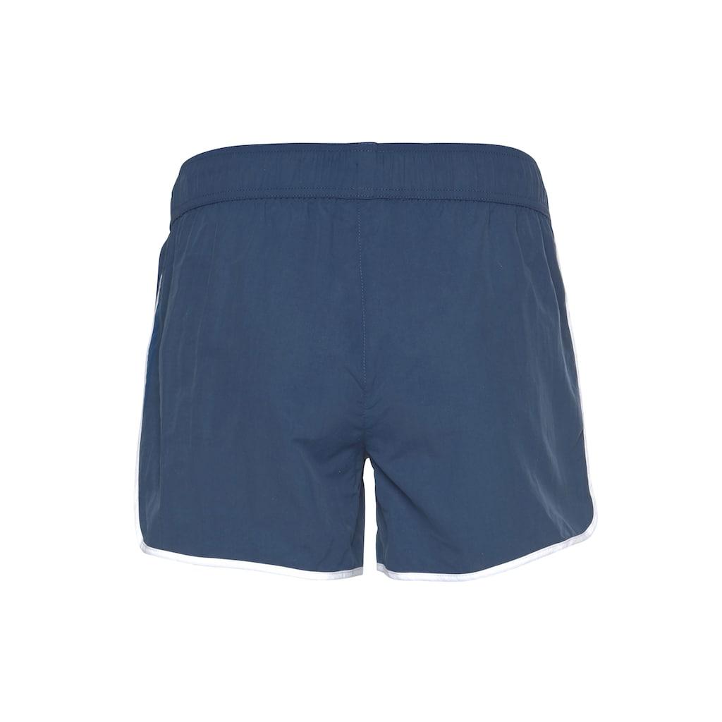 Ocean Sportswear Boardshorts »zum Baden & Surfen«, mit reflektierendem Druck