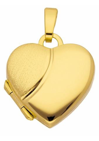 Adelia´s Kettenanhänger »333 Gold Medaillon Anhänger« kaufen