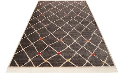 Teppich, »Marché Bonsecours«, Wecon home, rechteckig, Höhe 8 mm, maschinell gewebt kaufen