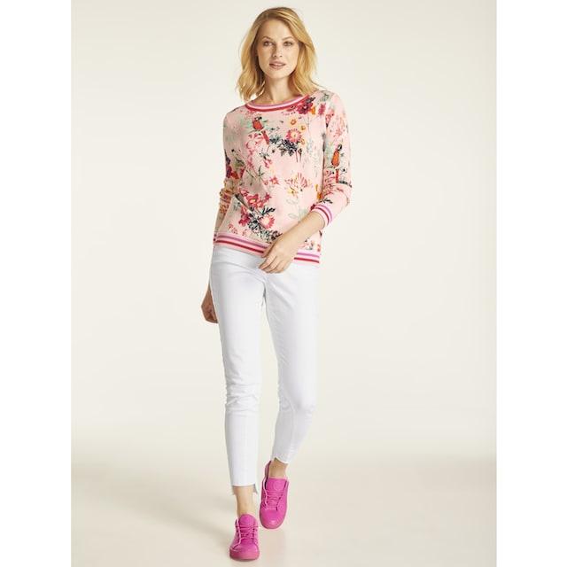 Bauchweg-Jeans Aleria mit Fransen