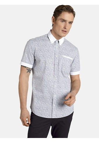 SHIRTMASTER Streifenhemd »nostarsjuststripes«, mit unifarbenen Kontrasten kaufen