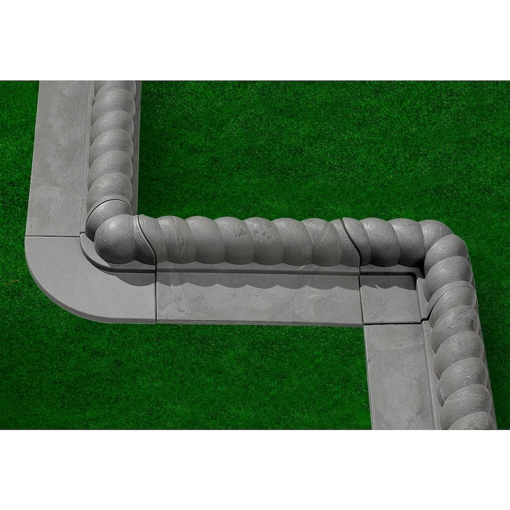 Gaede Rasenkante »Stein«, Kunststoff