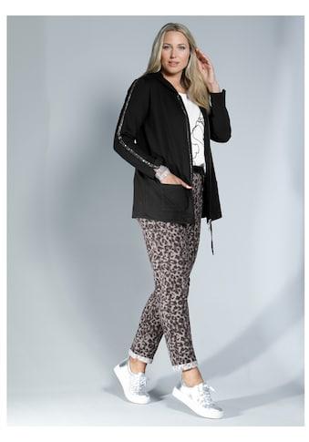 MIAMODA Jogger Pants, in angesagtem Leoprint kaufen