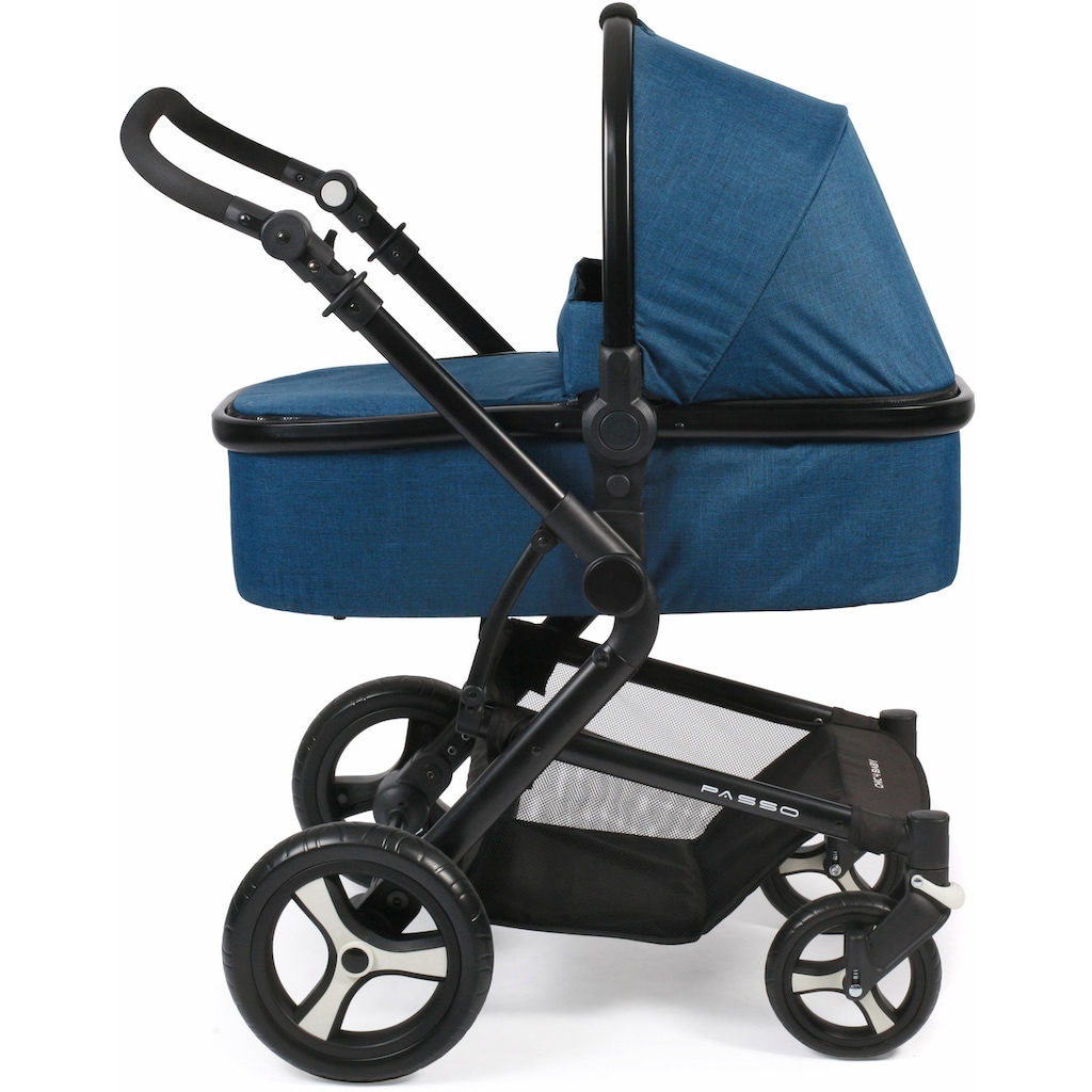 CHIC4BABY Kombi-Kinderwagen »Passo, navy«, 15 kg, ; Kinderwagen