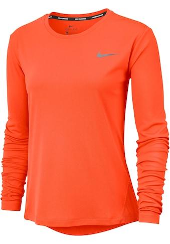 Nike Laufshirt »W NK MILER TOP LS« kaufen