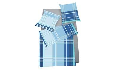 BETTWARENSHOP Bettwäsche »Streifen blau-grün«, kuschelige Feinbiber Qualität kaufen