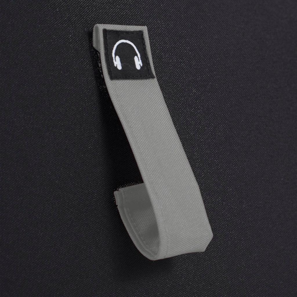 Sitzsack »Gaming Sitzsack«, Multifunktionstasche, Kopfhöreraufnahme