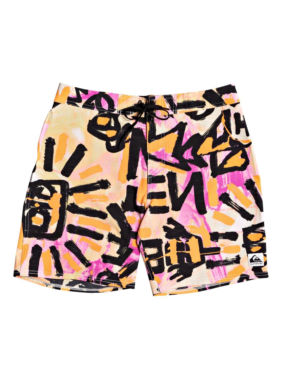 Quiksilver Boardshorts Warpaint 18   Bekleidung > Bademode > Boardshorts   Orange   Quiksilver