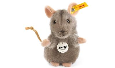Steiff Kuscheltier »Piff Maus grau, 10 cm« kaufen