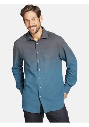 Jan Vanderstorm Flanellhemd »HALLBJORN«, mit modischem Farbverlauf kaufen
