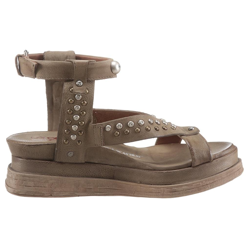 A.S.98 Sandalette »LAGOS 2.0«, mit Nieten besezte Bandagen