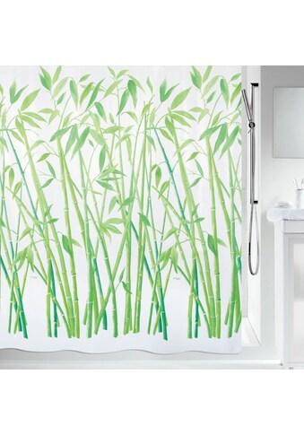 SPIRELLA Duschvorhang »BAMBUS«, 180x180 cm, wasserabweisend kaufen