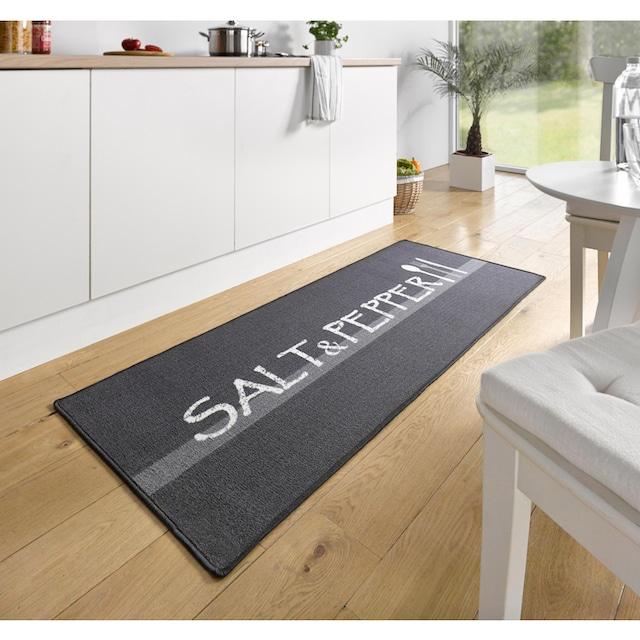 Küchenläufer, »Salt & Pepper«, HANSE Home, rechteckig, Höhe 8 mm, maschinell getuftet