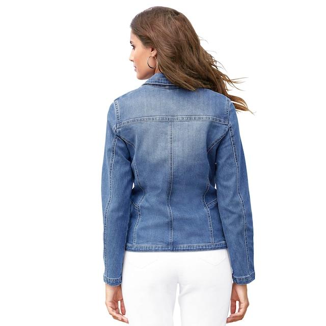 Lady Jeansblazer in aktueller Waschung