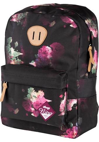 NITRO Freizeitrucksack »Urban Classic, Black Rose«, mit Laptopfach kaufen