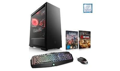 CSL Gaming PC | Core i9 - 9900K | GeForce RTX 2080S | 32GB DDR4 | SSD »HydroX T9006 Wasserkühlung« kaufen