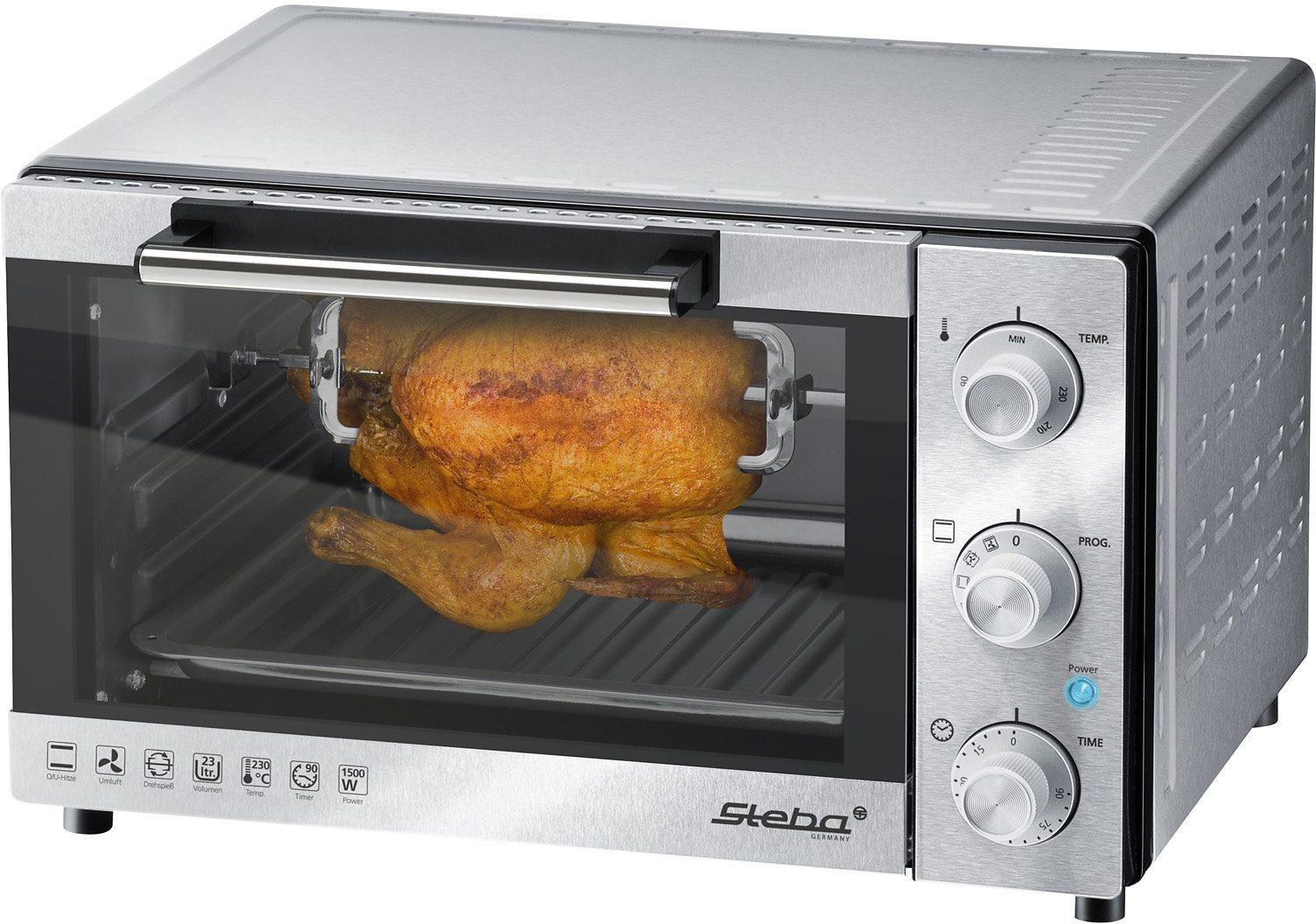 Steba Minibackofen KB 23 1500 W | Küche und Esszimmer > Küchenelektrogeräte > Küche Grill | Steba