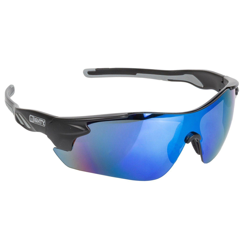 MIGHTY Sport-/Fahrradbrille Rayon One schwarz Fahrradbrillen Brillen Sportausrüstung Accessoires Fahrrad-Zubehör