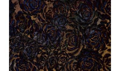 Consalnet Vliestapete »Dunkle Blumen«, floral kaufen