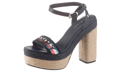 TOMMY HILFIGER High - Heel - Sandalette »TOMMY SEQUINS HIGH HEEL SANDAL« kaufen