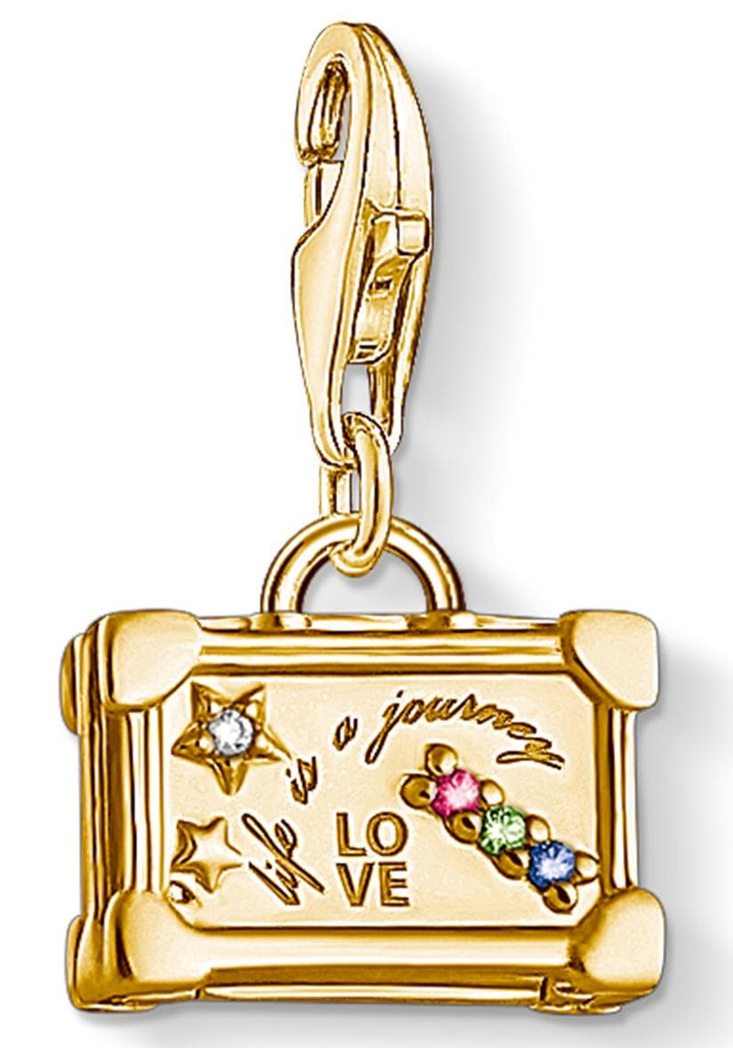 THOMAS SABO Charm-Einhänger Vintage-Koffer 1763-996-7   Taschen > Koffer & Trolleys > Sonstige Koffer   Bunt   Thomas Sabo