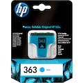 HP Tintenpatrone »hp 363 Original Foto cyan«, (1 St.)