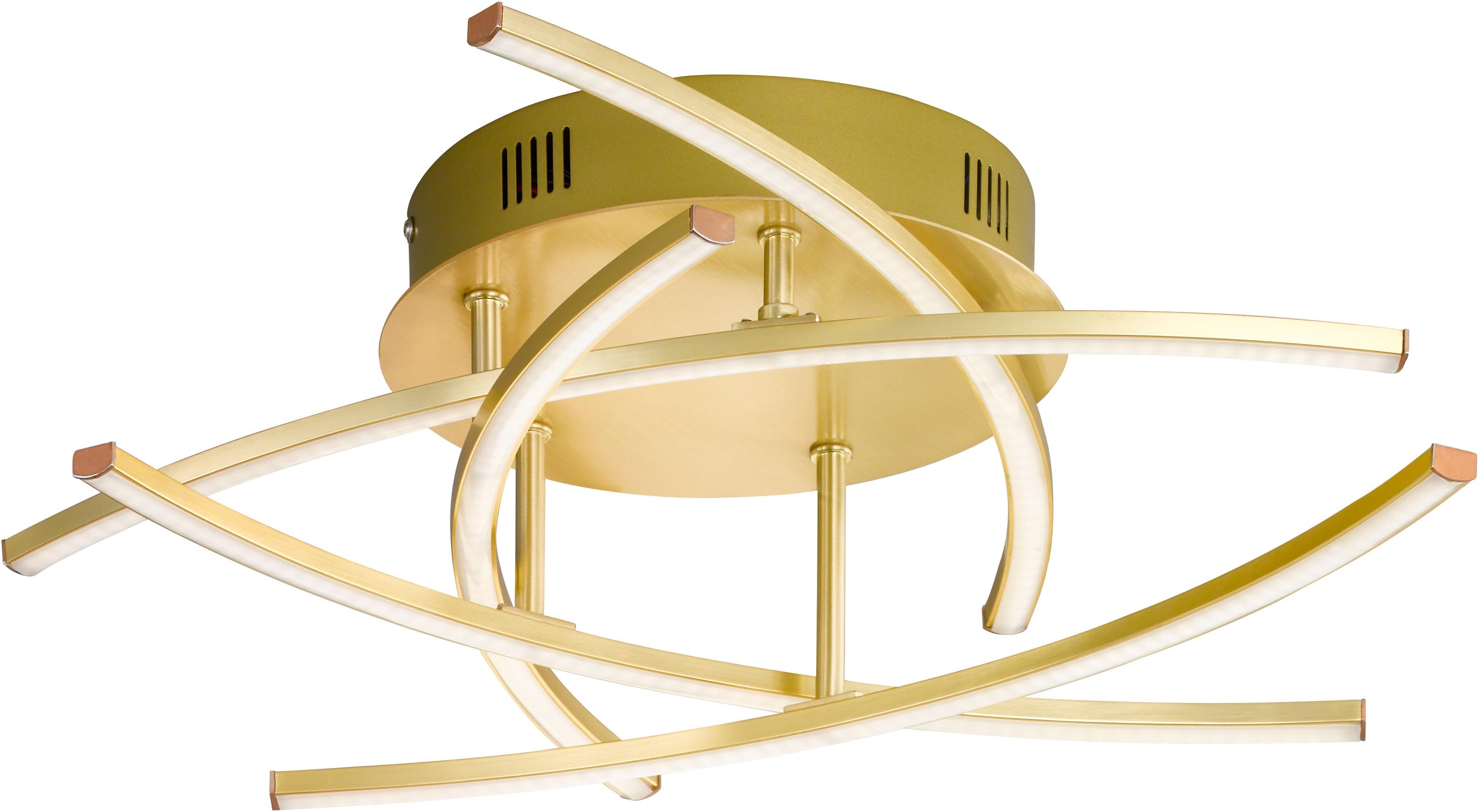 FISCHER & HONSEL LED Deckenleuchte Cross TW, LED-Modul, Warmweiß-Neutralweiß
