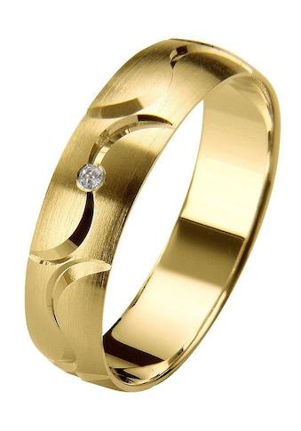 Firetti Trauring mit Gravur »seidenmatt, Diamantschnitt, in mehreren Breiten... kaufen