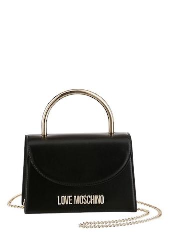 LOVE MOSCHINO Mini Bag, mit goldfarbener Umhängekette kaufen