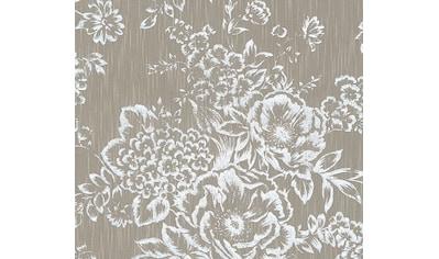 Architects Paper Textiltapete »Metallic Silk«, floral-matt-glänzend, mit Blumen kaufen