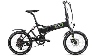 LLobe E-Bike »City III schwarz« kaufen