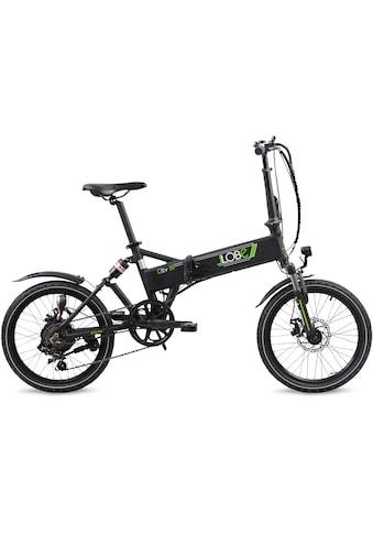LLobe E-Bike »City III schwarz«, 7 Gang, Shimano, Heckmotor 250 W kaufen