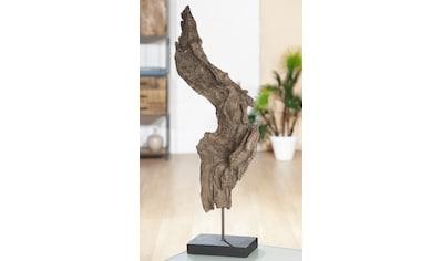 GILDE Dekoobjekt »Baumwurzel«, Höhe 69 cm, in Treibholz-Optik kaufen