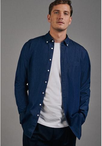 seidensticker Businesshemd »Regular«, Regular Langarm Button-Down-Kragen Uni kaufen