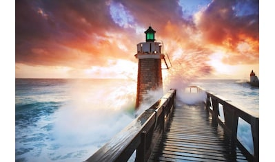 Home affaire Fototapete »Lighthouse«, 350/260 cm kaufen