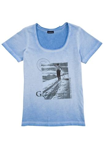 OS - Trachten Trachtenshirt Damen mit Printmotiv vorne kaufen