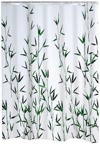 Ridder Duschvorhang »Bambus«, Breite 180 cm, Höhe 200 cm kaufen