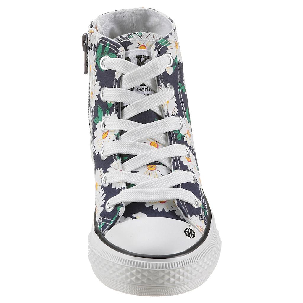Dockers by Gerli Sneaker, mit Blumendruck