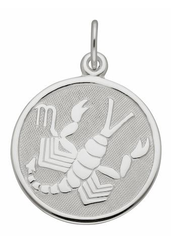 Adelia´s Kettenanhänger »925 Silber Sternzeichen Anhänger Skorpion Ø 15,7 mm« kaufen