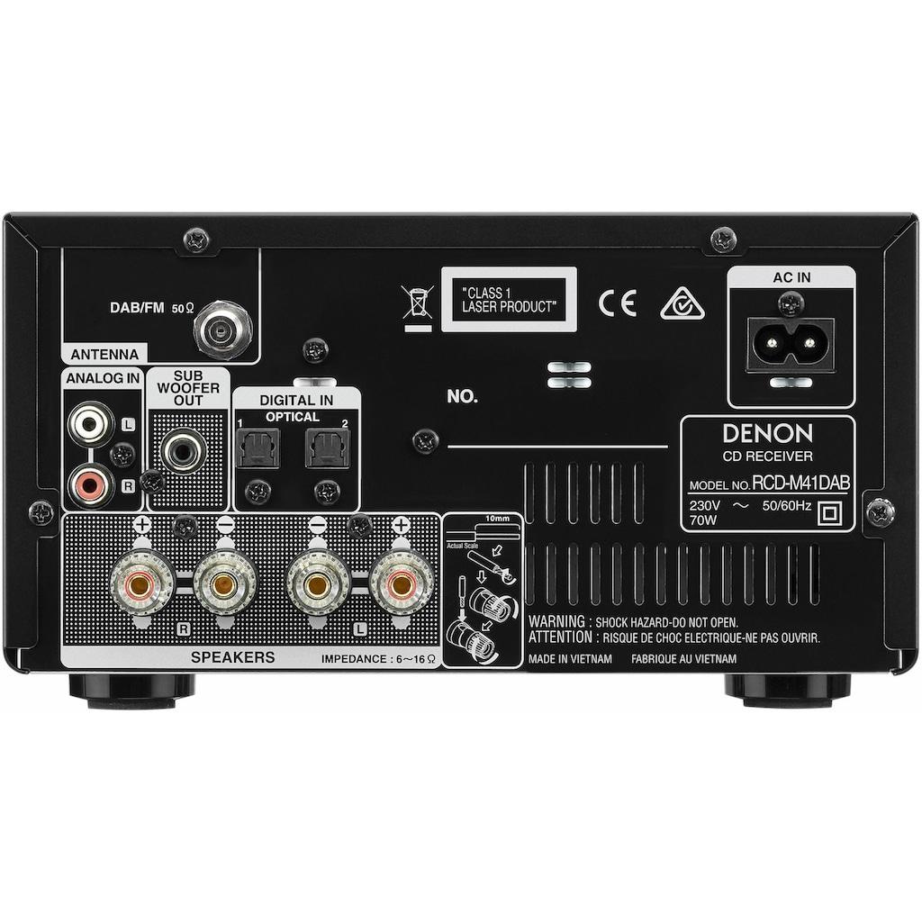 Denon CD-Player »RCD-M41DAB«, Bluetooth