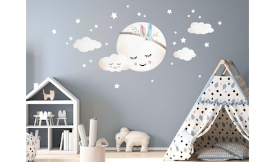 little DECO Wandtattoo »Little Deco Wandtattoo Wolken Mond & Sterne« kaufen