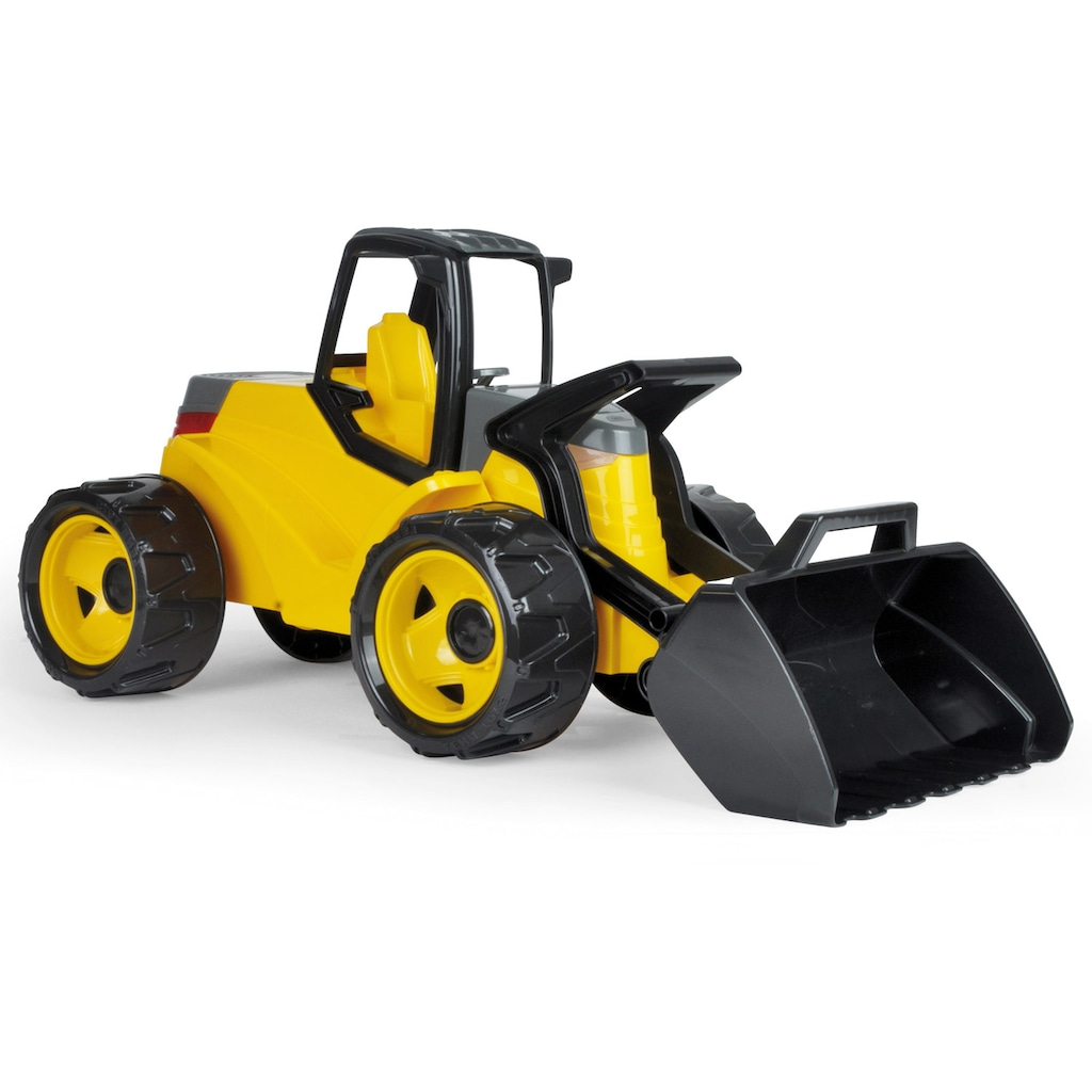 Lena® Spielzeug-Radlader »Giga Trucks, Aufsitz-Schaufellader Pro«, Made in Europe