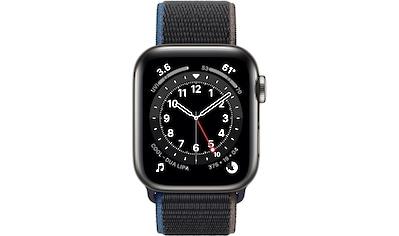 Apple Series 6 GPS + Cellular, Edelstahlgehäuse mit Sport Loop 40mm Watch kaufen