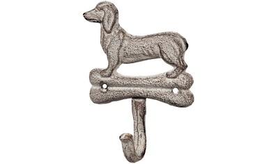Ambiente Haus Wandhaken »Haken aus Gusseisen - Hund« kaufen