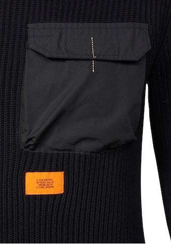 G-Star RAW Rundhalspullover »Army round Knit« kaufen